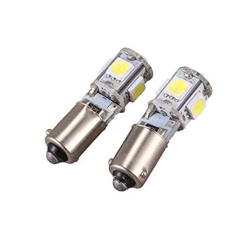 KU Syang 2X Canbus 5 SMD LED Bombilla luz de estacionamiento H6W BAX9S Tendencia
