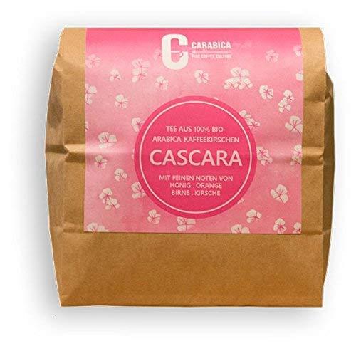 Cascara Kaffeekirschentee aus 100% BIO-Arabica Kaffeekirschen | aus Peru | direkter, fairer Handel | Premium Qualität | Verpackung ohne Aluminium | 130g