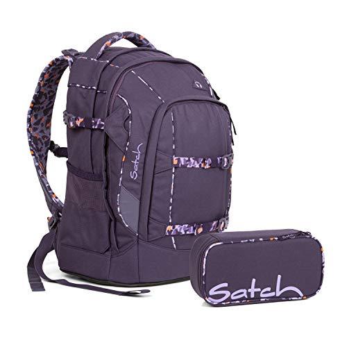 Satch Schulrucksack 2tlg. Set (mit SchlamperBox) (Pack Mysterious Rush)