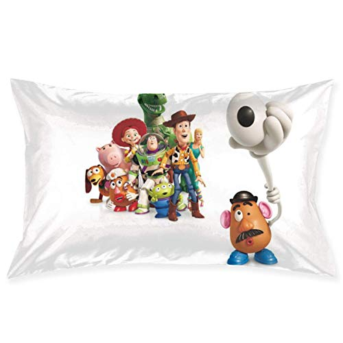 chenshan Toy Story Throw Pillow Covers Square Plush Pillowcases Decorative Printing Soft for Child Bed Home Modern Cushion pillowslip