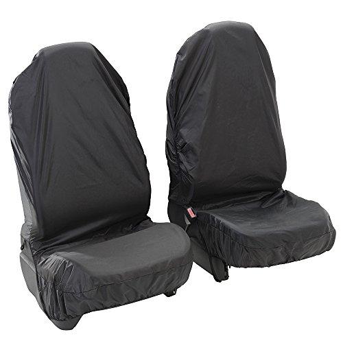 AutoCompanion - Coprisedili impermeabili per sedile anteriore auto, universali (con possibilità di scelta per sedile anteriore o posteriore),...