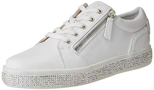 Geox D LEELU' D, Zapatillas Mujer, Blanco, 41 EU