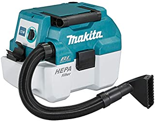 Makita DVC750LZ 18V Li-ion LXT Brushless L-Class Vacuum Cleaner - Batteries and Charger Not Included, Blue