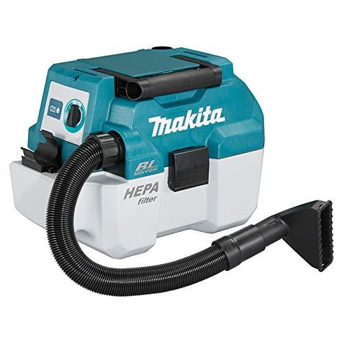 Makita DVC750LZ, Staubsauger DVC 750 LZ 18 Volt ohne Akku und Ladegerät, Grün/Schwarz, 4.5 liters