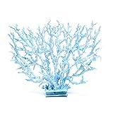 Adorno de plástico artificial para plantas de agua de coral, decoración de acuario, 1 unidad