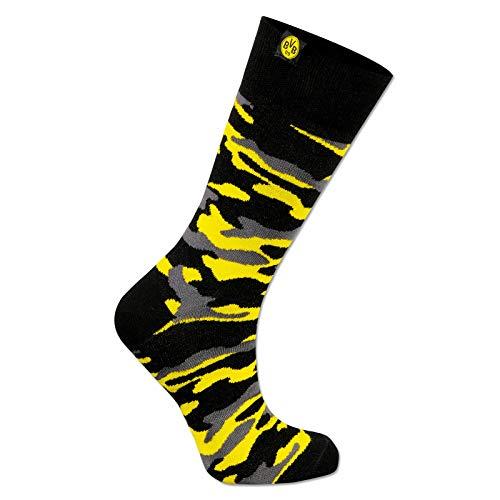 Borussia Dortmund BVB Socken camouflage, Größe 39-42