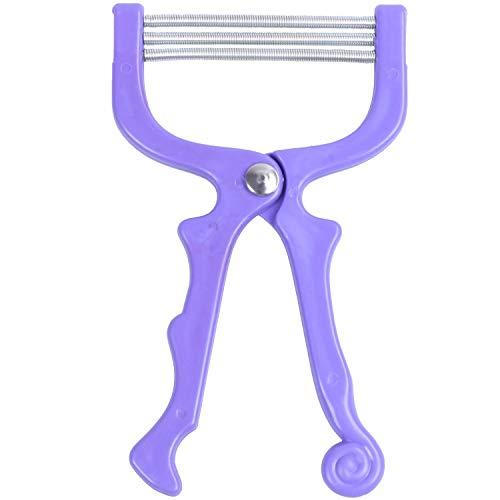 CUHAWUDBA Nouveau Facial Hair Removal Threader Remover Threading Beauty Tools Stick Epi, Violet