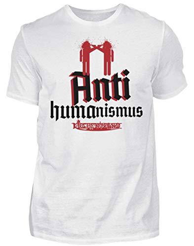 generisch Kirchenbrand - Antihumanismus II - Herren Premiumshirt -XL-Weiß