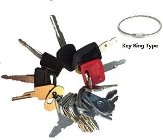 21 Keys Heavy Equipment Key Set / Construction Ignition Keys Set