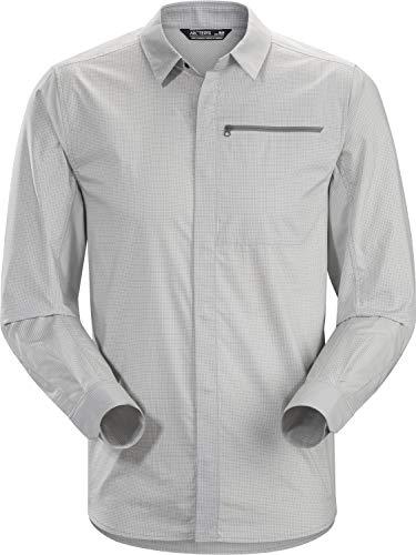 Arc'teryx Kaslo Shirt LS Men's (Delos Grey, XX-Large)