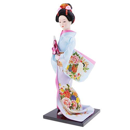 Japanese Geisha Dolls Kimono Ladies Dolls Home Ornaments Humanoid Furnishings Dolls Crafts - #5