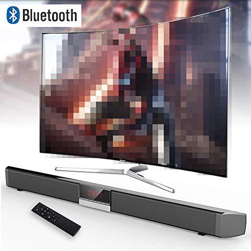 DBGS Bluetooth luidspreker, Echo Wall-strips, geluid bar, tv, draadloze luidspreker, aux-in coaxiale optische subwoofer thuisbioscoop