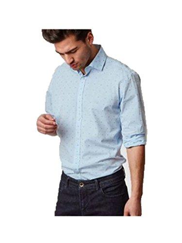 MC Gregor - Camisa Oscar Hill Hombre - Color: Azul