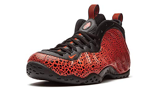 Nike 314996-014, Basketball Shoe Mens, Black/Bright Crimson-Total Crimson