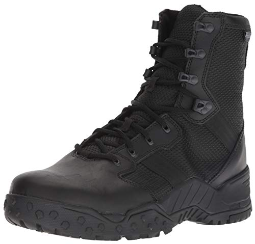 Danner Men's Scorch Side-Zip 8' Military and Tactical Boot, black, 11.5 D US