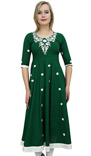 Bimba Women's Designer Green Tunic …