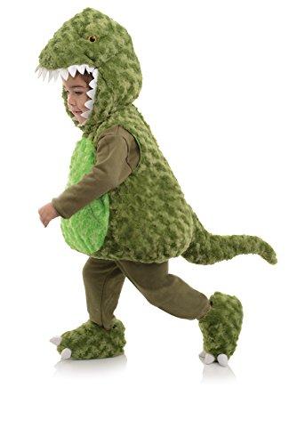 Underwraps Costumes Costume Peluche bébé t Rex Vert Taille 18/24 Mois