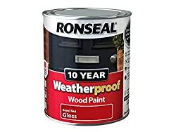 Ronseal Exterior Gloss Paint For Wood