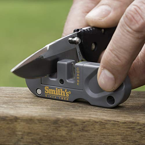 Smith's PP1 Pocket Pal Multifunction Sharpener, Grey