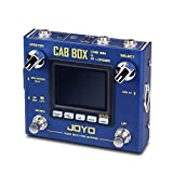 JOYO Cab Box Electric Guitar & Bass Effect Pedal with IR Loading & Cabinet Modeling and Power Amp Simulation Supports Storing 10 Third Party IRs (R-08)