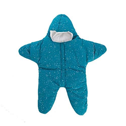 Baby Schlafsack Winter tragbare Decke Baumwolle Warme Baby Schlafsack für Jungen und Mädchen, Seesternen-Wickeltuch, Wimpelkette, Schlafsack, Nachthemd Neugeborene