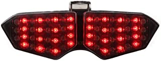 Integrated Sequential LED Tail Lights Smoke Lens for 2003-2005 Yamaha YZF R6 / 2006-2009 R6S