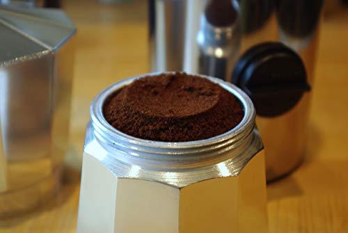 Meliconi – Dosificador de café automático, de acero inoxidable