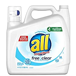 All Free & Clear Laundry Booster, 141 Ounce