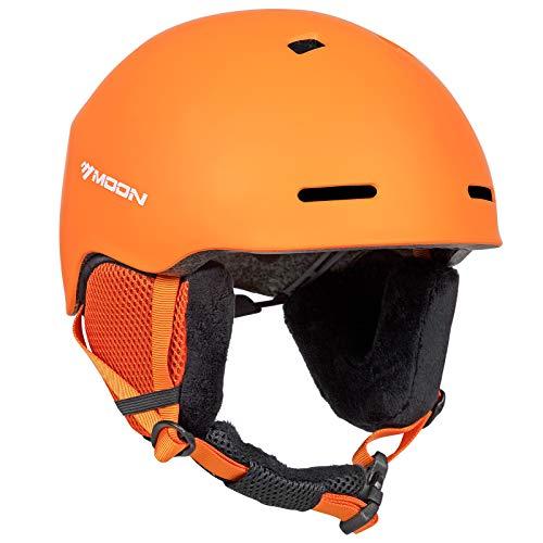 MOON Ski Helmet Men Women Snowboard Helmet Snow Helmet, 12 Vents 400g 4 Colors