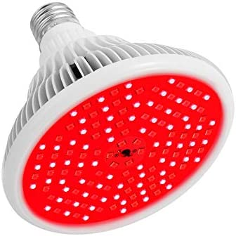 Red Light Therapy Lamp with Transparent Cover MAINENG 144 LEDs 660nm and Near Infrared 850nm product image