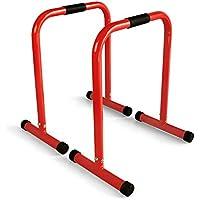 AFW 106084R 106084R-Barras paralelas, Color Rojo, Talla M, Hombre, U