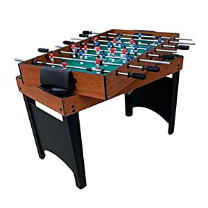 ZXQZ Mesa Multijuegos 4 En 1, Mini Mesa de Billar, A Través de La Mesa de Futbolín de Poste, Mesa de Hockey de Aire, Mesa de Ping Pong Mesa de Ping Pong, para Niños Adultos Mini mesas de Billar