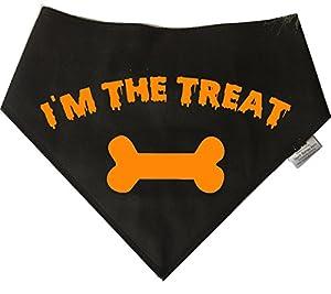 Spoilt Rotten Pets Bandana pour chien Motif Halloween je suis le Treat–Idéal déguisement pour chien