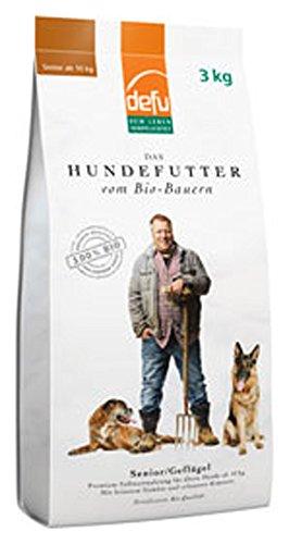 defu Bio Hundefutter Senior 3kg