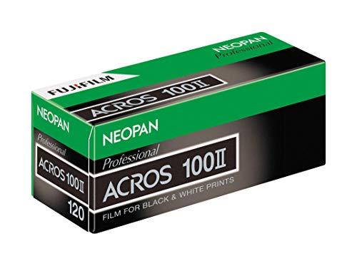FUJIFILM 黒白フィルム ネオパン100 ACROS Ⅱ120サイズ 12枚撮 1本