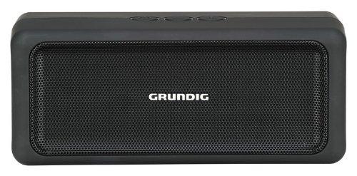 Grundig GSB 120 Bluetooth Lautsprecher schwarz/silber