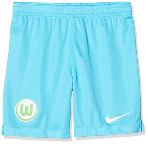 NIKE Vflw Y Nk BRT Stad Short Ha Pantalones Cortos de Deporte, Unisex niños, Chlorine Blue/(White) (no Sponsor), S