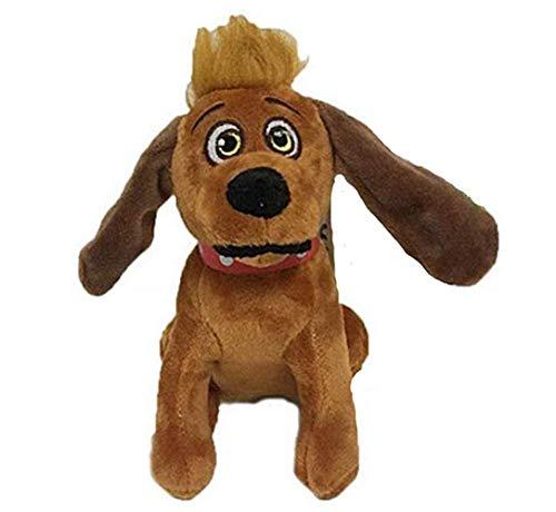 Weihnachten Grinch Plüsch Puppe Wohnkultur Sammeln 3D Hund Plüschtier Gefülltes Bett Puppen Kuschelkissen Cosplay Spielzeug Kissen Kinder Erwachsene Weihnachten Neujahr Geschenk (A, 18cm)
