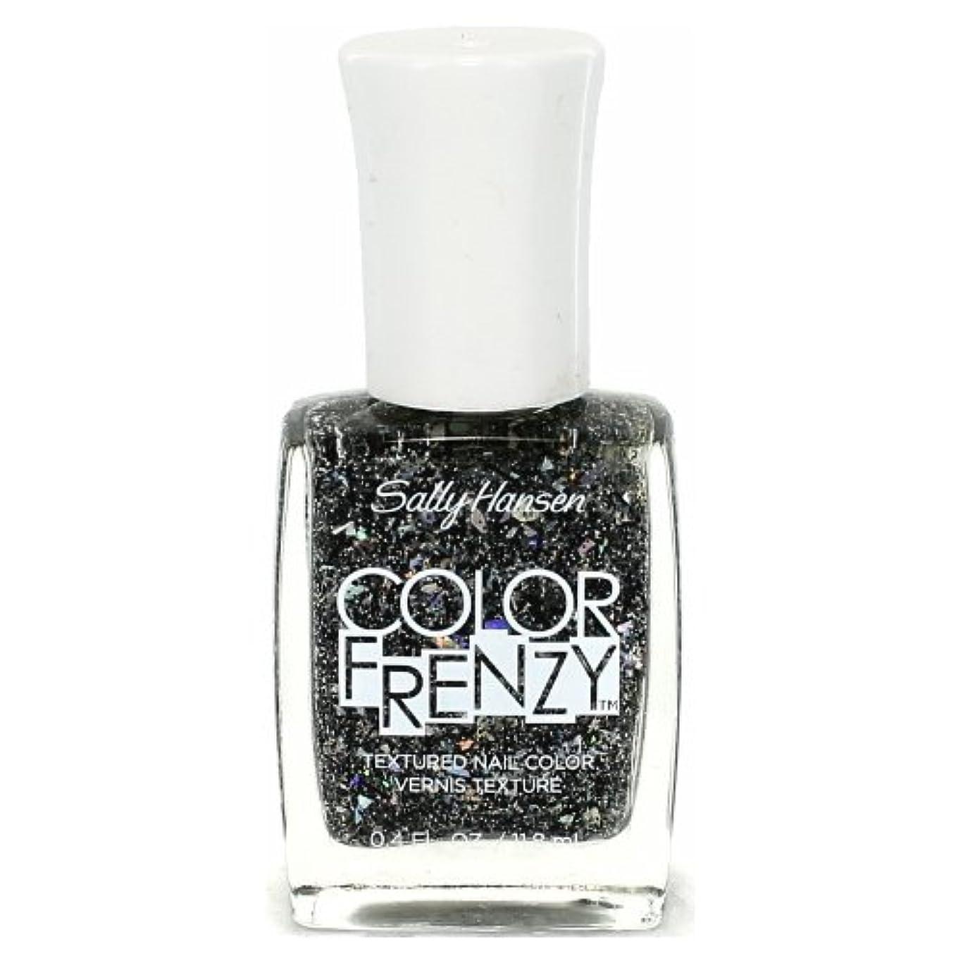 促進する衣服認める(6 Pack) SALLY HANSEN Color Frenzy Textured Nail Color - Spark & Pepper (並行輸入品)