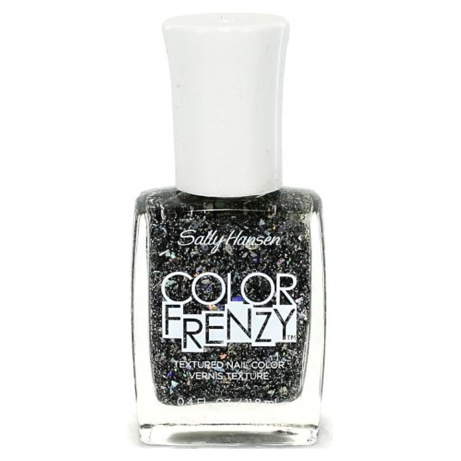 バケツオデュッセウスリスク(3 Pack) SALLY HANSEN Color Frenzy Textured Nail Color - Spark & Pepper (並行輸入品)