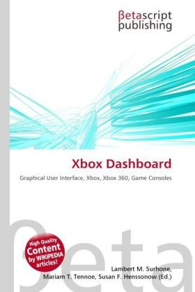 Xbox Dashboard: Graphical User Interface, Xbox, Xbox 360, Game Consoles