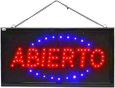 Schild LED Panel Beleuchtung Geschäft offen Open Lokus Schild LED Panel Offene Beleuchtung Offen - 0