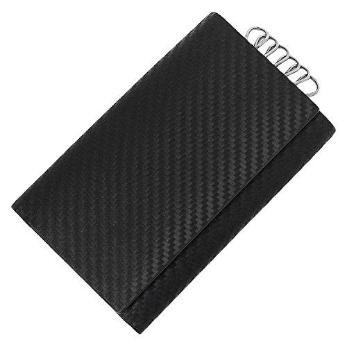 ダンヒル キーケース DUNHILL L2A2C3A CHASSIS シャーシ 無地 BLACK 黒 [並行輸入品]