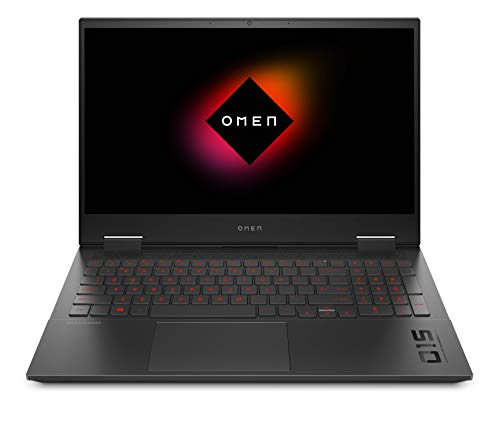 HP OMEN 15-ek0069nf PC Portable Gaming 15,6' FHD IPS 144 Hz Noir (Intel Core i7, RAM 16 Go, SSD 512 Go,NVIDIA GeForce RTX 2060, AZERTY, Windows 10)