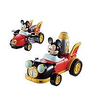 GAOTING トイストーリー三つ目の少年プルバックカーモンスター大学サリバンプルバックカー子供のおもちゃ急激な変形車 (色 : No box Mickey)