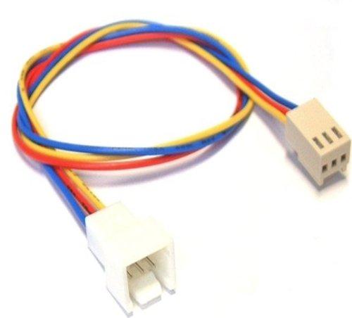 InLine Lüfterkabel Verlängerung, 3pol Molex Stecker / Buchse, Länge 0,6m
