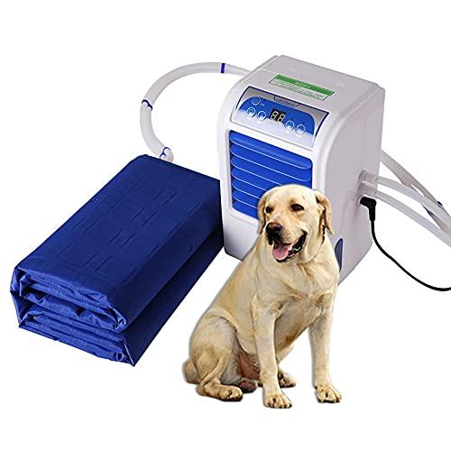 Colchón de agua de refrigeración, colchón de hielo con control remoto inteligente del ciclo del agua de refrigeración, para el hogar, el albergue, los perros y las mascotas