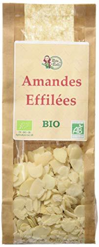 RITA LA BELLE Amandes Effilées Bio 125 g - Lot de 6
