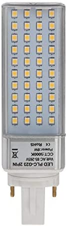 HERO LED G23D 8W DW Rotatable PL S Lamp G23D 2 Pin LED CFL Compact Fluorescent Lamp Replacement product image