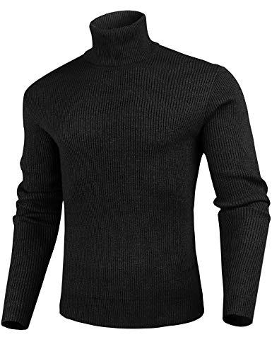 iClosam Jersey De Punto SuéTer para Hombre Cuello Redondo Slim Fit Pullover JerséIs Hombre Invierno